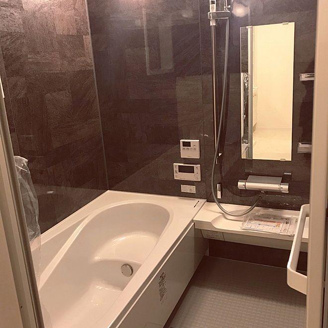 バス トイレ 組石ブラック 使用前 お風呂 Lixilのインテリア実例 2018 10 24 20 50 16 Roomclip ルームクリップ お風呂 浴室 Toto 風呂