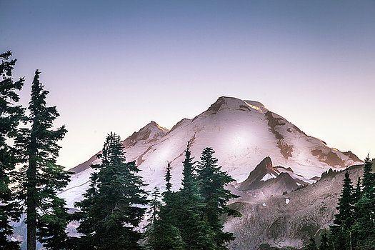 Art Calapatia - Tip of Mount Baker, WA