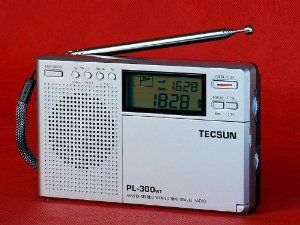Tecsun PL300WT FM Stereo Time Travel Digital Radio D117 by unikoo. $74.99. Features:   1. 100% Brand New 2. Using DSP technology to enhance the highest sensitivity and selectivity, with excellent S/N ratio & anti-interference result in good reception & sound quality 3. FM-Stereo/ AM / LM / Shortwave 4. With Multi-functional Rotary Control Knobs for Clock adjustment, Frequency tuning & changing Memory Address 5. Four Tuning Mode Selectable:  * Jog dial manual tunin...