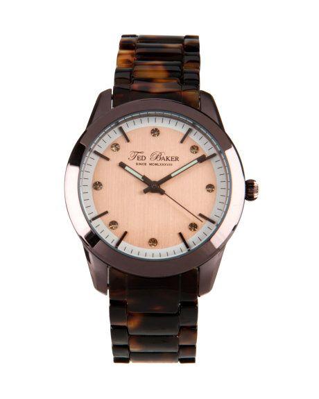 Tortoise shell watch - Tortoise Shell | Watches | Ted Baker UK