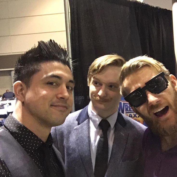 "5,836 Likes, 52 Comments - TJ Perkins (@megatjp) on Instagram: ""3 British guys... #WWE #wrestlemania #RAW #205live #tjperkins #CruiserGreat #FilAmFlash…"""