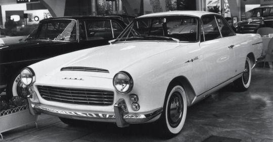 FIAT 2100 BERLINETTA - by Carrozzeria Francis Lombardi of Turin.