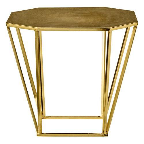 partypleasersblog@wordpress.com, instagram-partypleasers, gold pentagonal side table