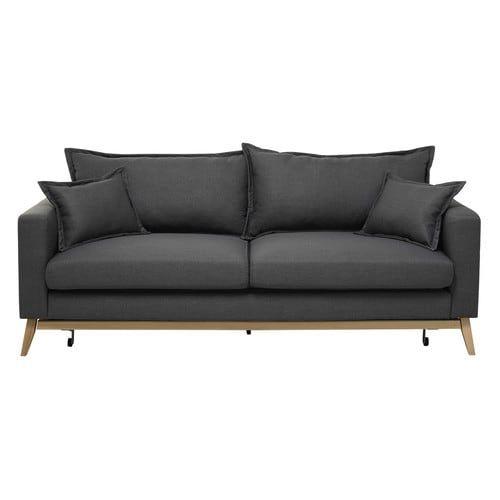 Die besten 25+ Ausziehbares sofa Ideen auf Pinterest Ausziehsofa - grose couch kleines wohnzimmer