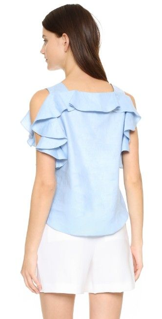 Amanda Uprichard Claudette Top | SHOPBOP