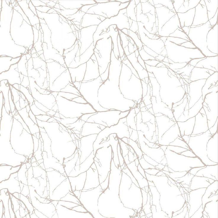 Kuitutapetti Oksat beige 4978-3 0,53 x 11,2m (5,9 m²) - Taloon.com