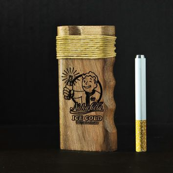 California Sea // Fallout Nuka Cola Dugout One Hitter with Hemp wick