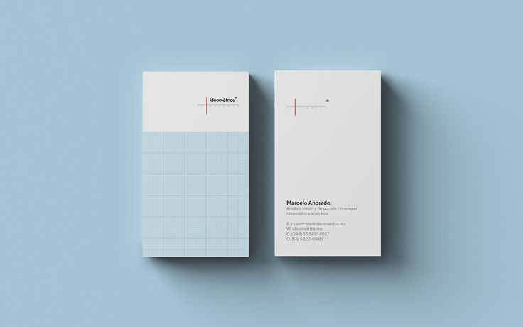 Corporate Identity for ideométrica