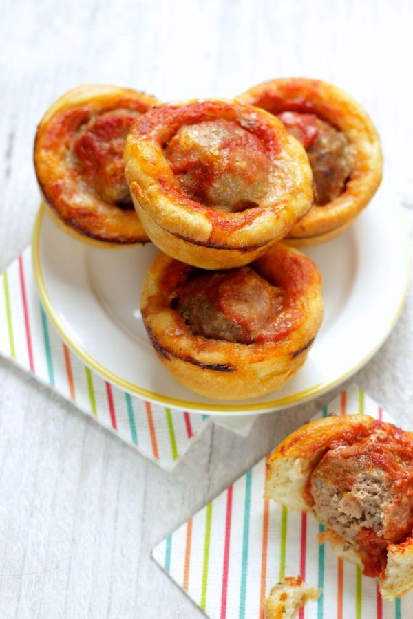 polpetta muffin alla pizzaiola