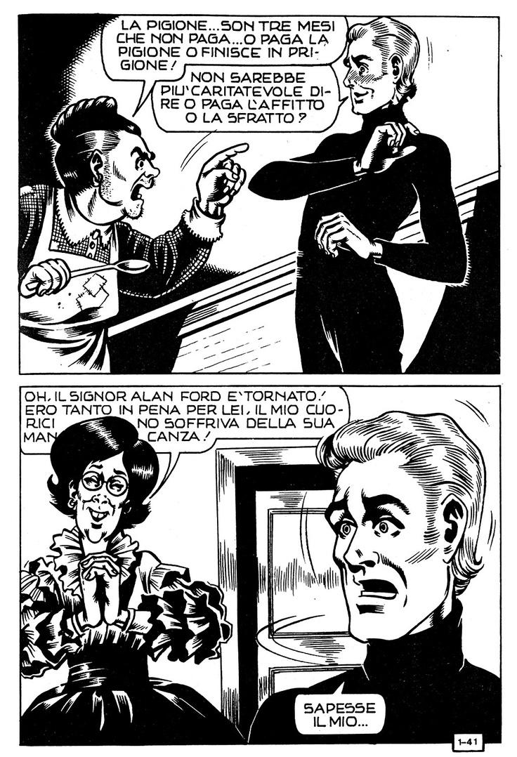 Alan ford gruppo t n t ubc enciclopedia online del fumetto - Magnus Roberto Raviola 1939 1996 Alan Ford