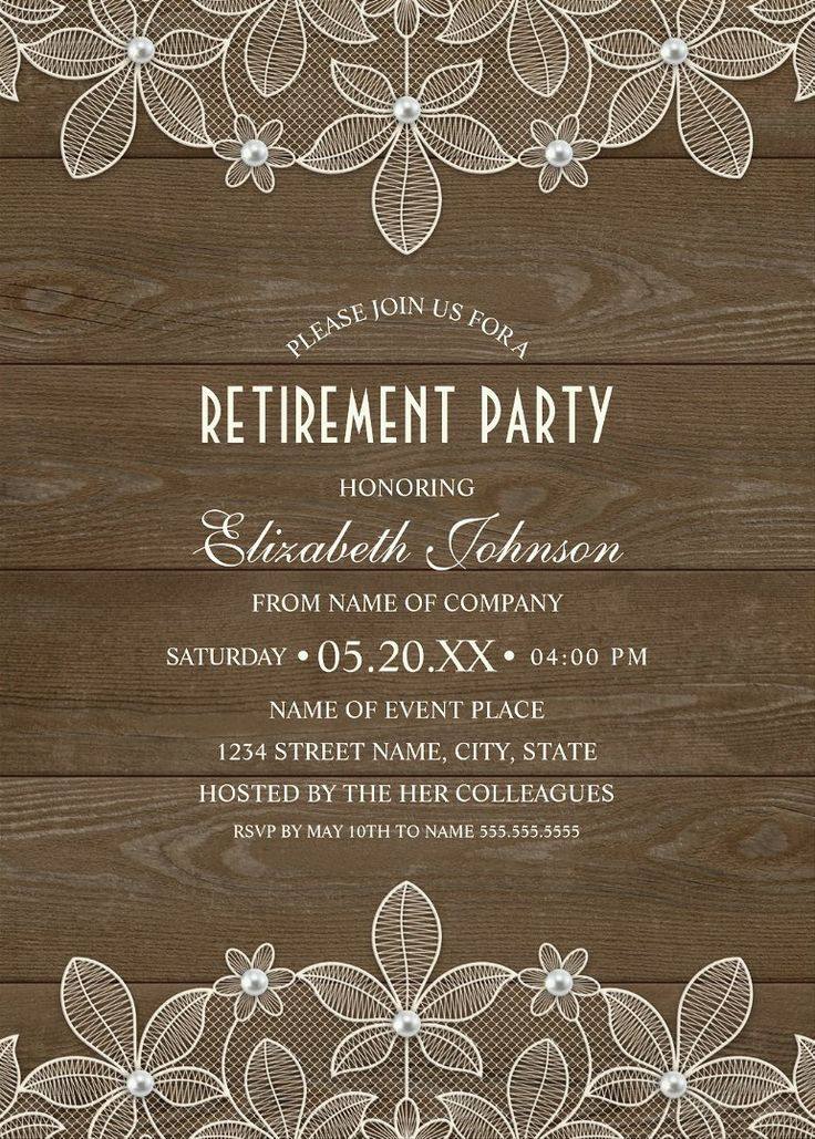 18 best Retirement Party Invitations images on Pinterest | Big ...
