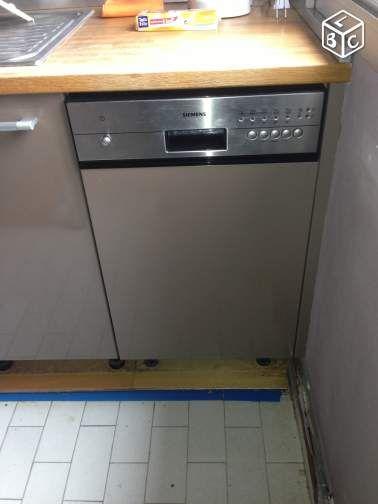 Lave Vaisselle SIEMENS Encastrable 45 Cm Electroménager Hauts De Seine    Leboncoin.