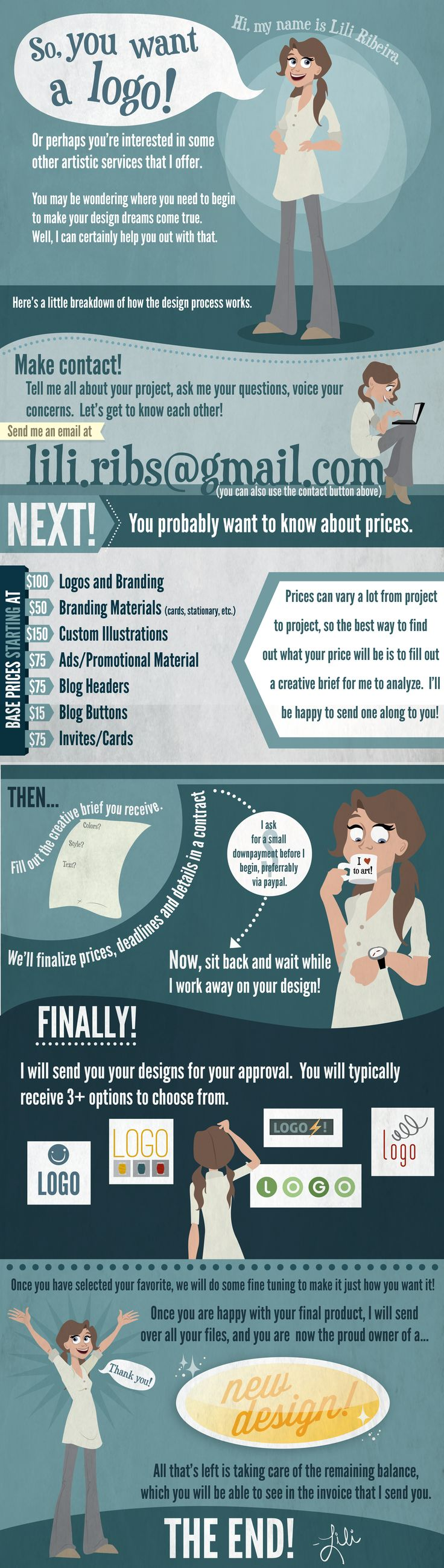 Really Cute, Concise And Awesome Infographic For A Freelance Graphic  Designer!