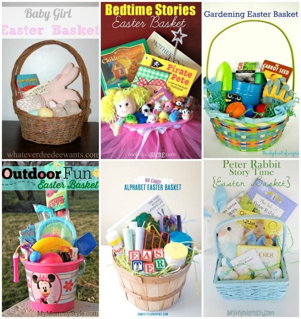 53 best easter images on pinterest easter basket ideas easter 6 candy free easter basket ideas negle Image collections