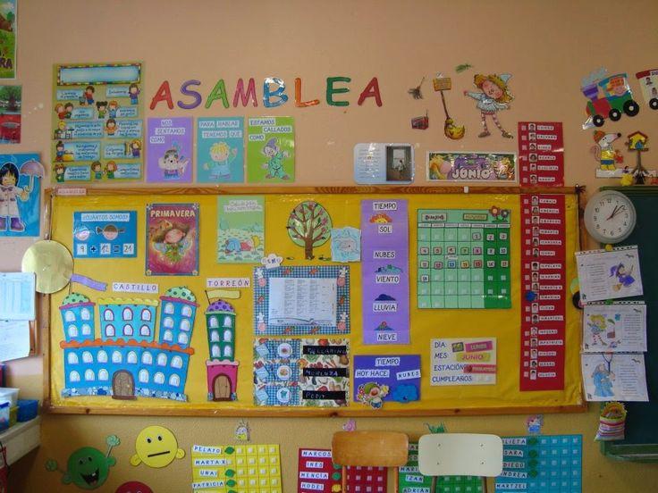 La asamblea es una rutina muy importante en la jornada escolar. La realizamos nada más entrar en clase. Lo primero que hacen los niños al...