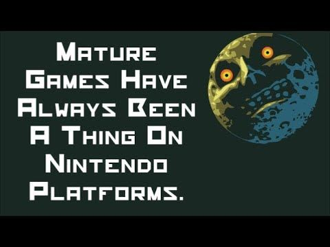 Nintendo and mature content - challenging the stereotype