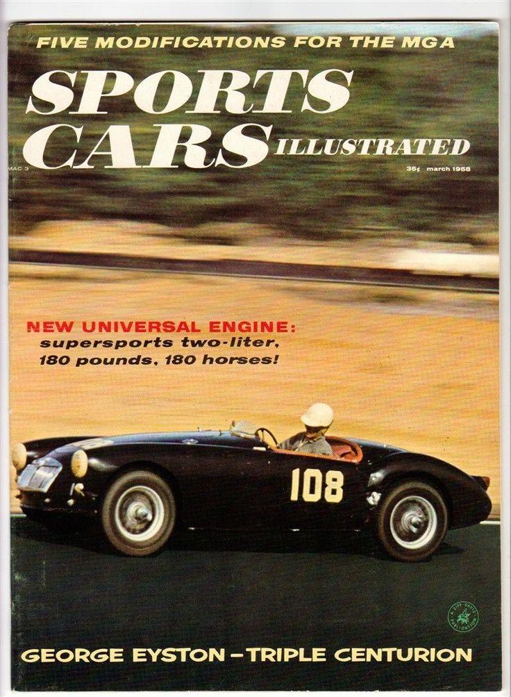 273 best mga images on Pinterest | Old school cars, Vintage cars ...