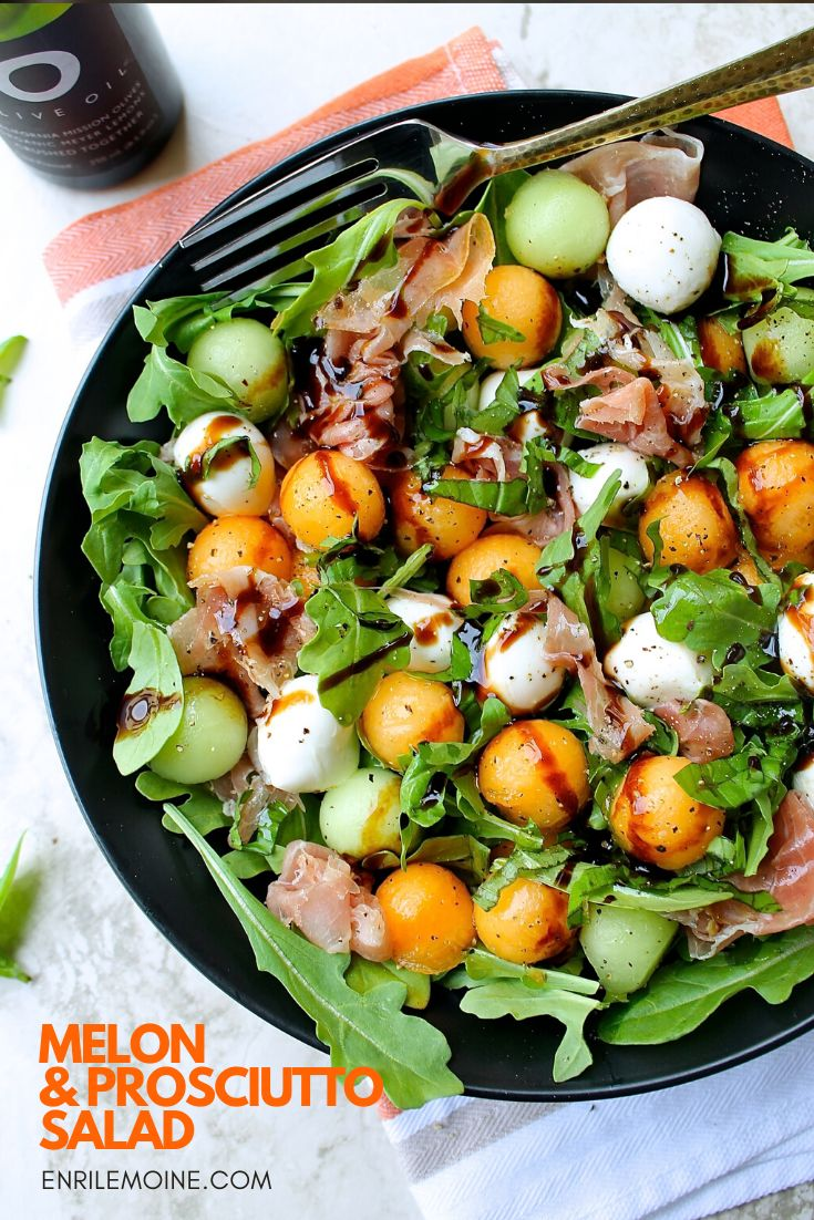 This melon and prosciutto salad can be served as an antipasto or main course at lunch time. Click for this delicious Ita…