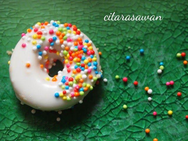 Biskut Donut / Snow White Cookies   Resipi Citarasawan