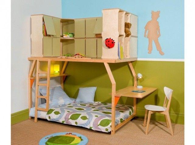 Ber ideen zu lit mezzanine fille auf pinterest mezzanine etagenbet - Mezzanine espace loggia ...