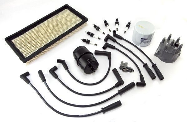 Ignition Tune Up Kit, 4.0L; 91-93 Jeep Cherokee XJ