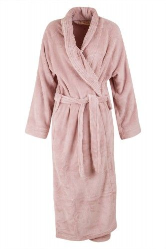 Rug yourself up in comfort with this Microfiber bathrobe. It features plush cozy fabric, cuffed long sleeves, a self-tie belt, and two patch pockets. This 100% Polyester robe is machine washable & available in 2 beautiful colours: pink & charcoal.