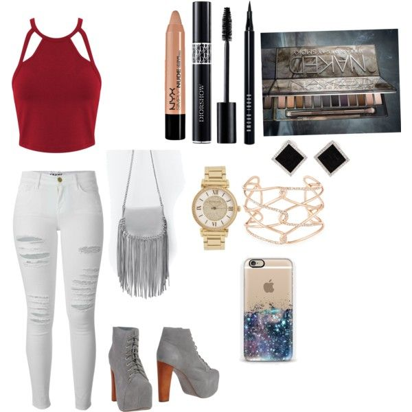 If I could dress my best friend 3 by hajimo on Polyvore featuring polyvore, fashion, style, Miss Selfridge, Frame Denim, Jeffrey Campbell, Zara, Yvel, Michael Kors, Alexis Bittar, Bobbi Brown Cosmetics, Christian Dior, NYX and Urban Decay