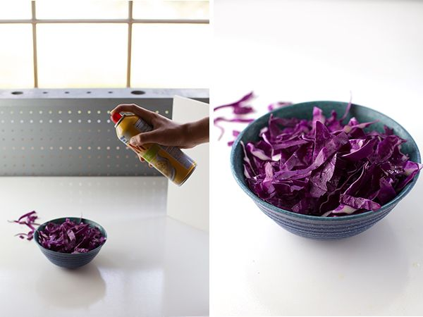 Food Photography Tip - Nonstick cooking spray -- 10 Household Items to aid in Photography // Pinch of Yum