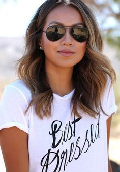 This tee with big letters is very fashion now,this tee choose casual and loose…