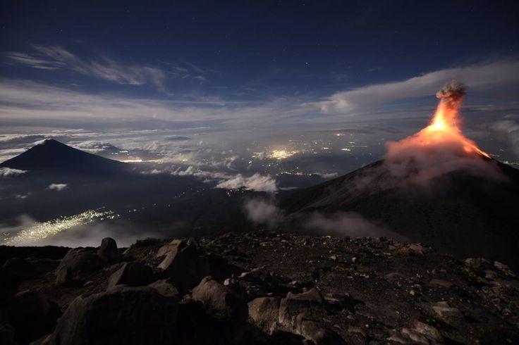 Supermoon 2016: Acatenango #Guatemala #photography