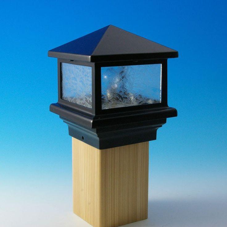 sirius post cap deck light by aurora deck lighting decks posts and. Black Bedroom Furniture Sets. Home Design Ideas