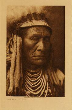 Skins Wolf - Apsaroke,1908. Edward Sheriff Curtis Photography.
