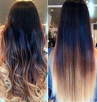 Ombre Medium Light | LOXOLOGY HAIR EXTENSIONS | Online Shop