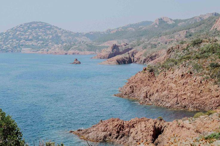 Côte d'Azur Coast Red Rocks 23timezones