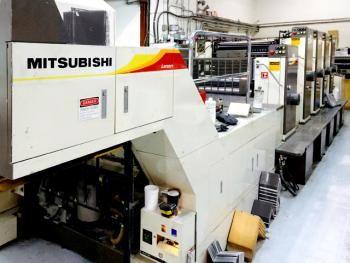 Mitsubishi 1F-4D+Coater - Age 1998 http://arbado.com/machines/