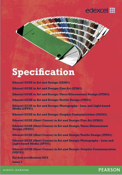 Specification - Edexcel