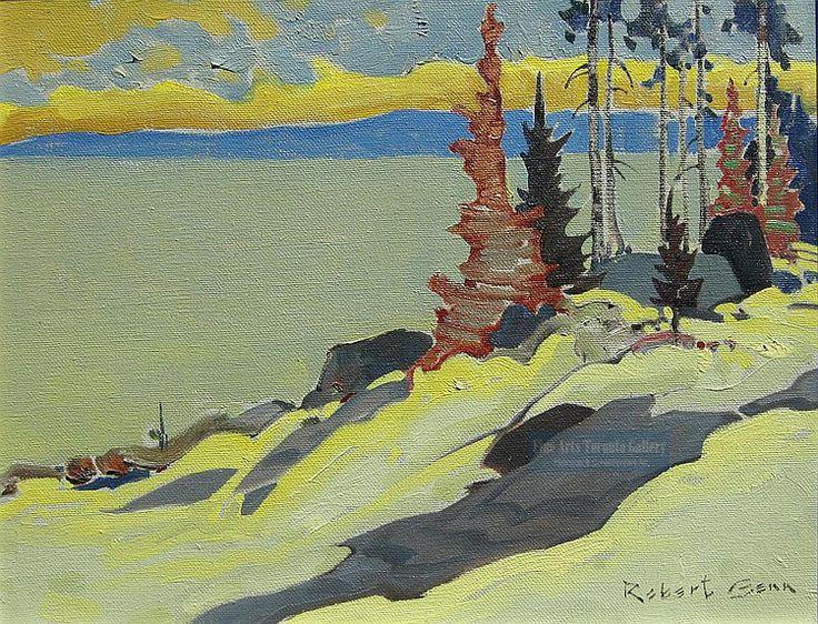 """Golden Afternoon"" by Robert Genn. Acrylic on canvas (11"" x 14"" unframed)"