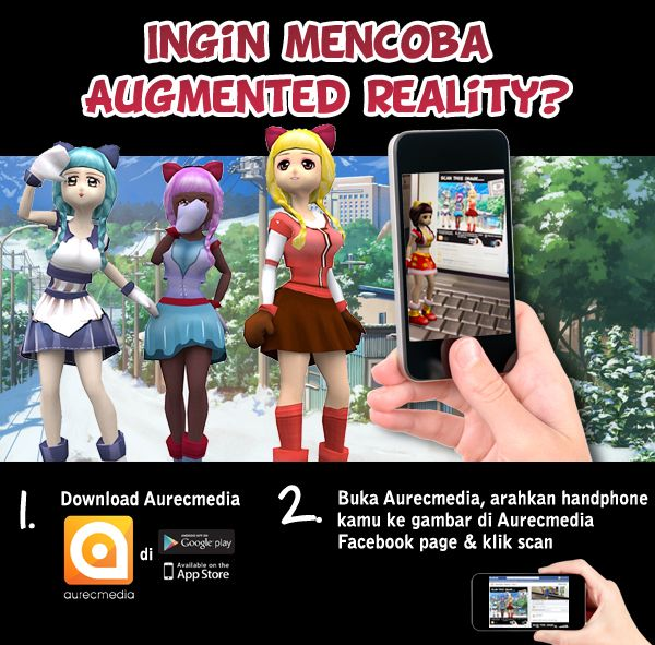 Experience augmented reality with Aurecmedia