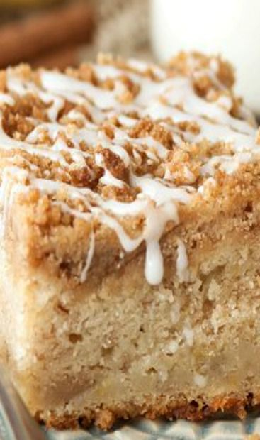 Banana Crumb Coffee Cake Recipe