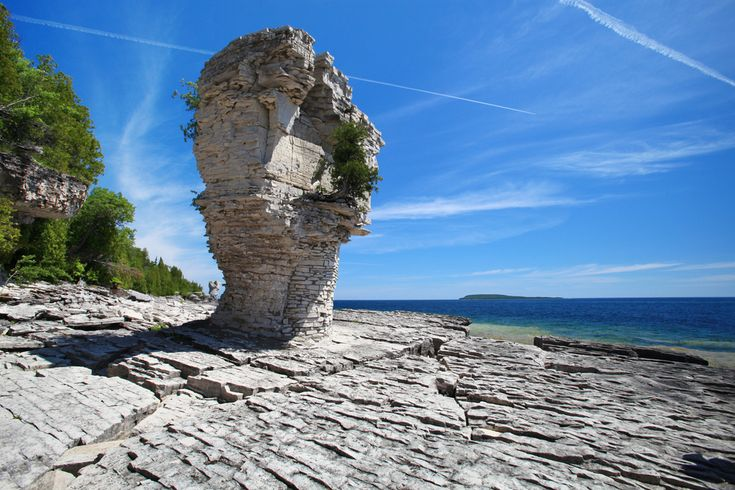 Flowerpot Island, Ontario - Summer Canadian Travel Destinations