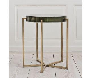 столик металлический круглый, стол   круглый металлический, столики из латуни