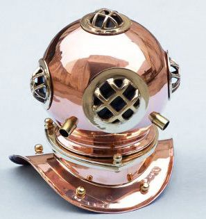 Copper Divers Helmet