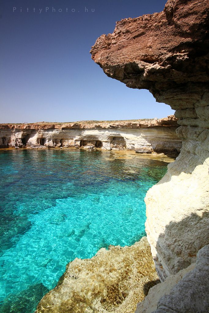Sea Caves - Agia Napa, Cyprus.  Stay in Cyprus with our affordable collection of B&B's here: www.1bb.com