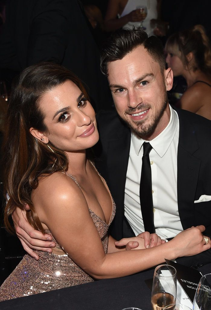 """One year after they first met on the set of her music video for """"On My Way,"""" look back at Lea Michele's adorable romance with Matthew Paetz."""