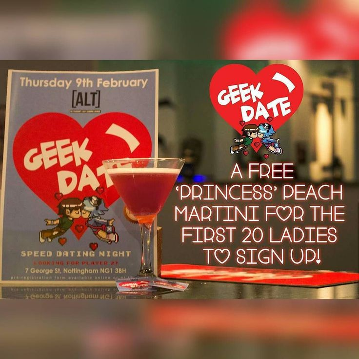 Ladies! We only have a few left! Sign up now: http://ift.tt/2jhJ3R6  Event details on our FB Page  #love #geekdate #dating #speeddating #player2 #geek #nerd #geekboy #geekgirl #geekgirl #videogaming #nottingham #derby #mansfeild #newark #grantham #retrogaming #scottpilgrimvstheworld #pcgaming # #
