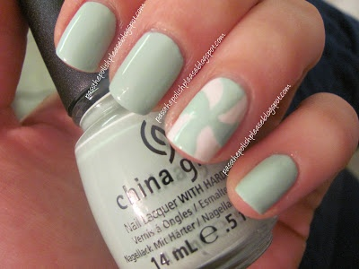 China Glaze Re-Fresh Mint - The Long Lost Manicureby www.passthepolishplease.blogspot.com