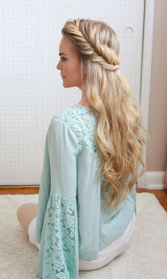Long Hair Hairstyles Adorable 214 Best Hair Images On Pinterest  Hair Ideas Hairstyle Ideas And