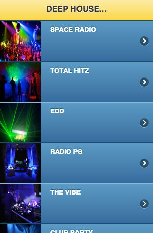 "Download ""DEEP HOUSE MUSIC RADIO"" readily available at amazon.com for the android OS http://tinyurl.com/deephouse2"