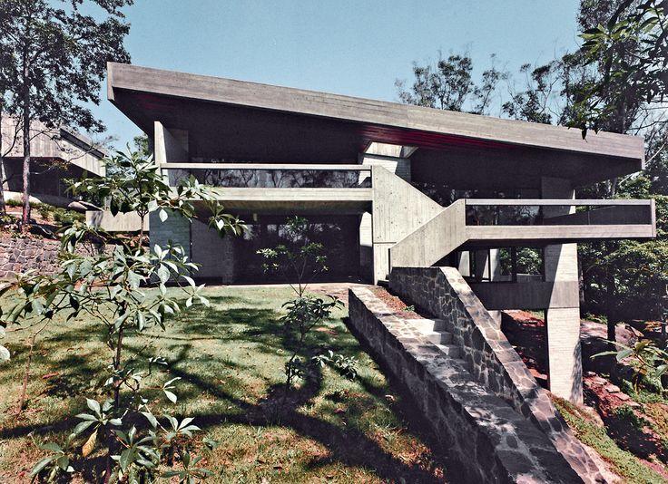 Harry Seidler - Seidler House, Killara 1967. Brazilian influence in Australia.