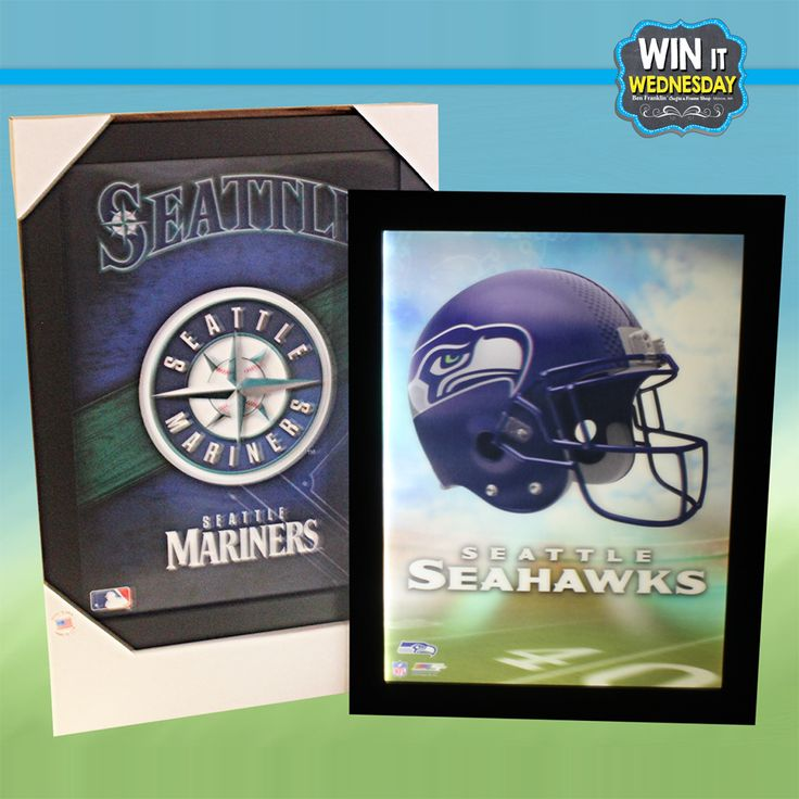 "UPDATE: Our winner is Staci Drews. Congratulations! -- WIN-IT-WEDNESDAY Facebook Giveaway for June 7, 2017 >> Just in time for Father's Day – win your choice of one Seattle Mariners or Seattle Seahawks 3D Electric Sign (11.5"" x 15.5""). Participate here: https://www.facebook.com/bfranklincraftsmonroe/photos/p.10154666879412205/10154666879412205/?type=3"